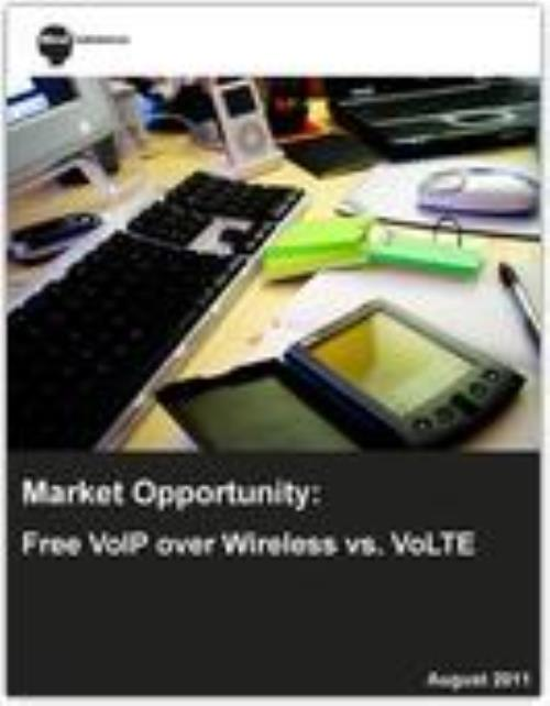 Market Opportunity: Free VoIP over Wireless vs. VoLTE - Product Image