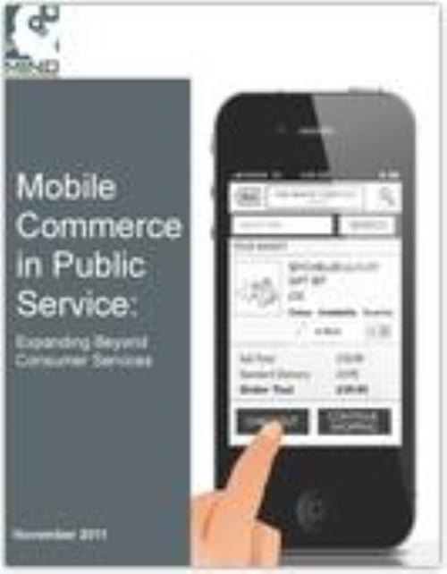 Mobile Commerce in Public Service: Expanding Beyond Consumer Services - Product Image
