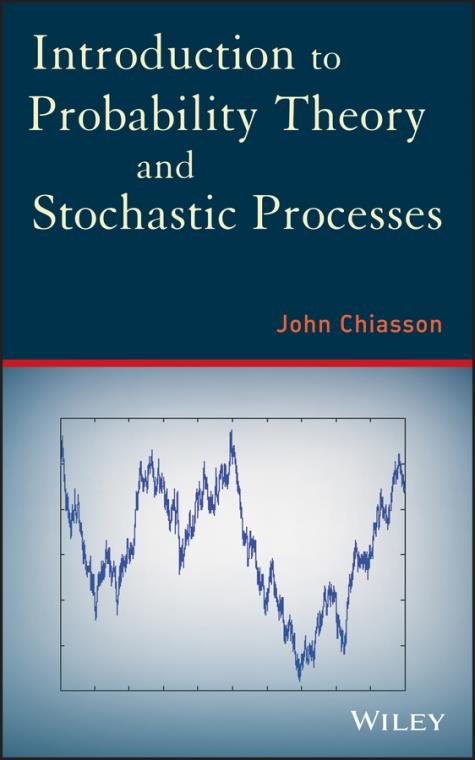 Introduction to Probability Theory and Stochastic Processes - Product Image