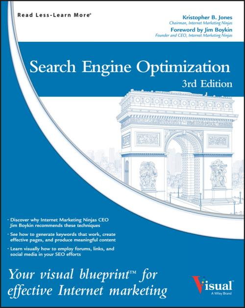Search Engine Optimization. Your Visual Blueprint for Effective Internet Marketing. 3rd Edition - Product Image