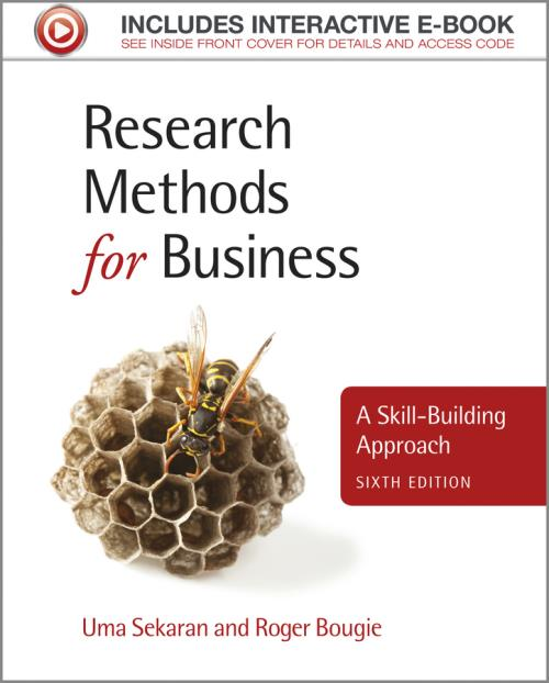Research Methods for Business. A Skill-Building Approach. 6th Edition - Product Image