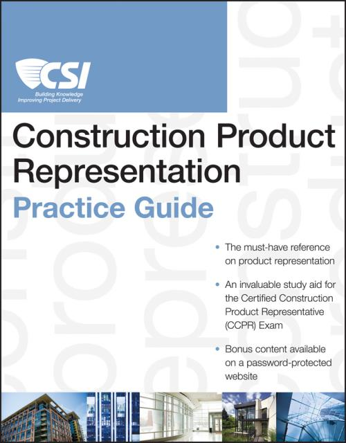 The CSI Construction Product Representation Practice Guide. CSI Practice Guides - Product Image