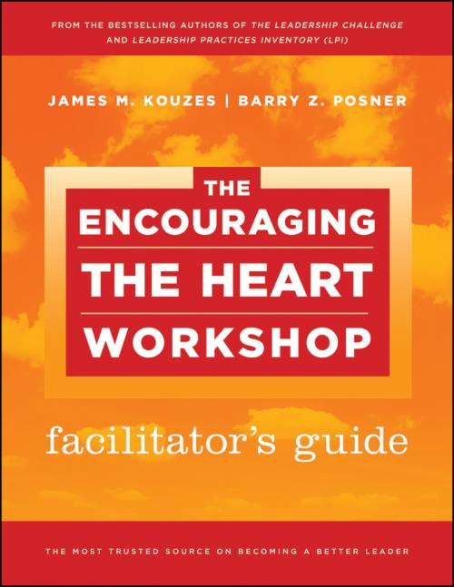 The Encouraging the Heart Workshop Facilitator's Guide Set. J-B Leadership Challenge: Kouzes/Posner - Product Image