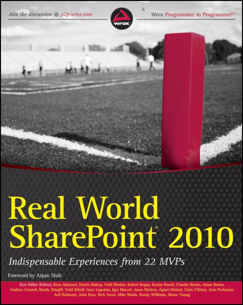 Real World SharePoint 2010. Indispensable Experiences from 22 MVPs - Product Image