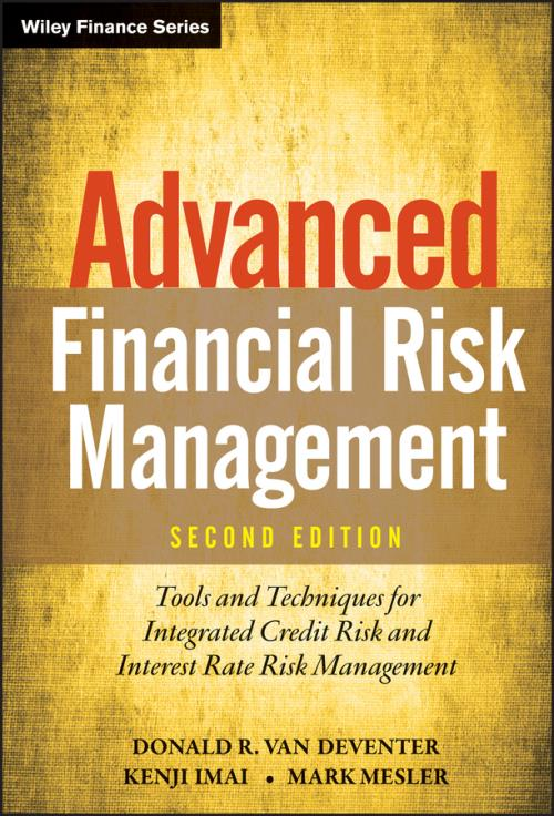 Advanced Financial Risk Management. Tools and Techniques for Integrated Credit Risk and Interest Rate Risk Management. 2nd Edition - Product Image