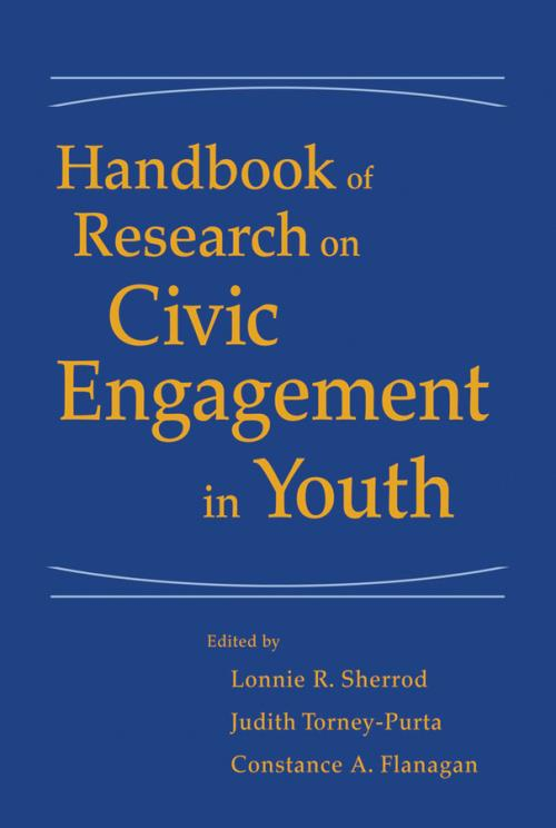 Handbook of Research on Civic Engagement in Youth - Product Image