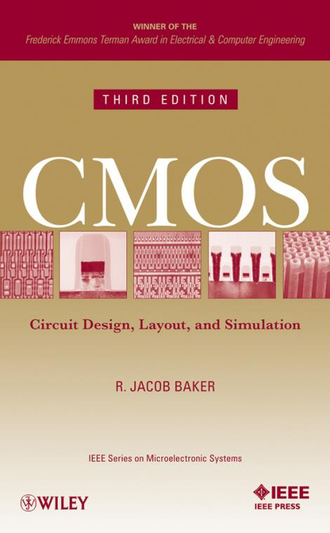 Cmos. Circuit Design, Layout, and Simulation. 3rd Edition. IEEE Press Series on Microelectronic Systems - Product Image