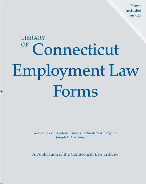 Library of Connecticut Employment Law Forms - Product Image