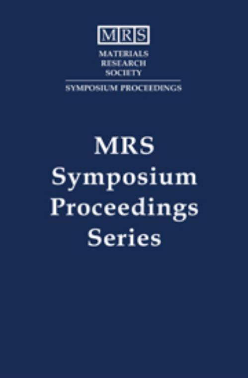 Scientific Basis for Nuclear Waste Management XV: Volume 257. MRS Proceedings - Product Image