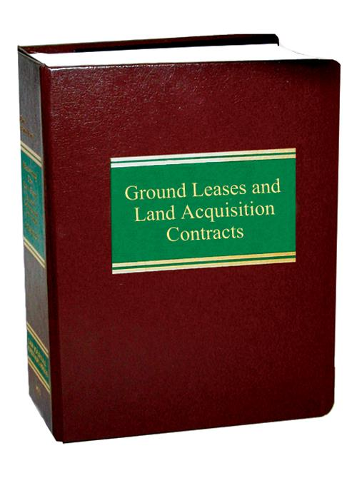 Ground Leases and Land Acquisition Contracts. - Product Image