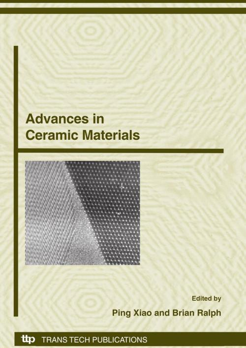 Advances in Ceramic Materials - Product Image