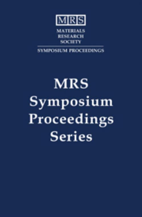 Rapid Thermal and Integrated Processing II: Volume 303. MRS Proceedings - Product Image