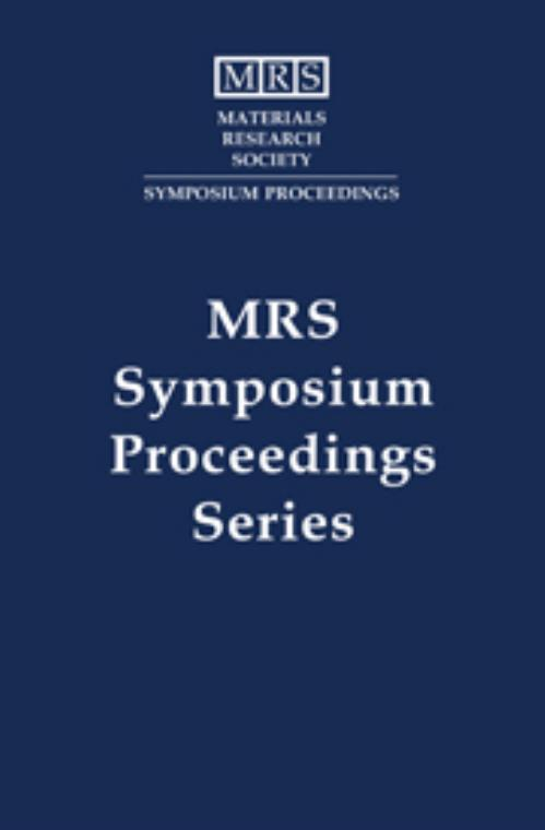 Rapid Thermal and Integrated Processing III: Volume 342. MRS Proceedings - Product Image