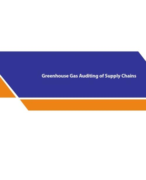 Greenhouse Gas Auditing of Supply Chains - Product Image