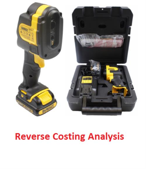 Dewalt – DCT416 Imaging Thermometer Kit Reverse Costing Analysis - Product Image