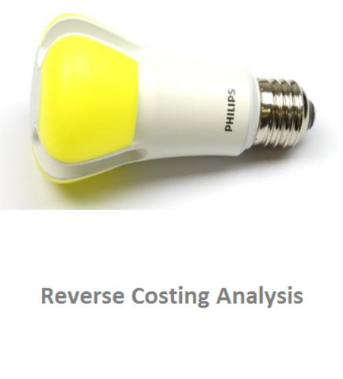 Philips L-Prize® A19 LED Lamp Reverse Costing Analysis - Product Image