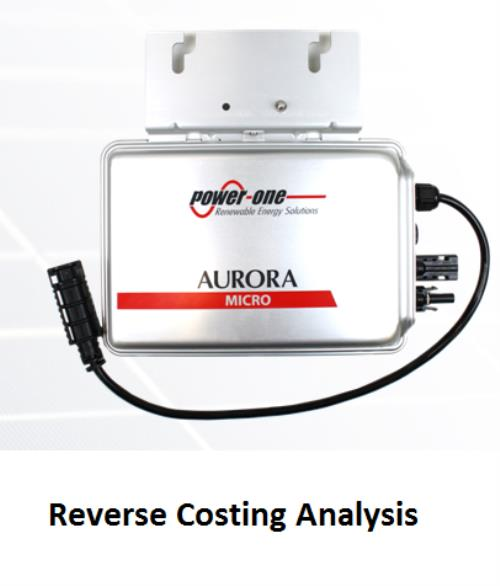 Power-One Aurora MICRO-0.25-I PV Micro-Inverter Reverse Costing Analysis - Product Image