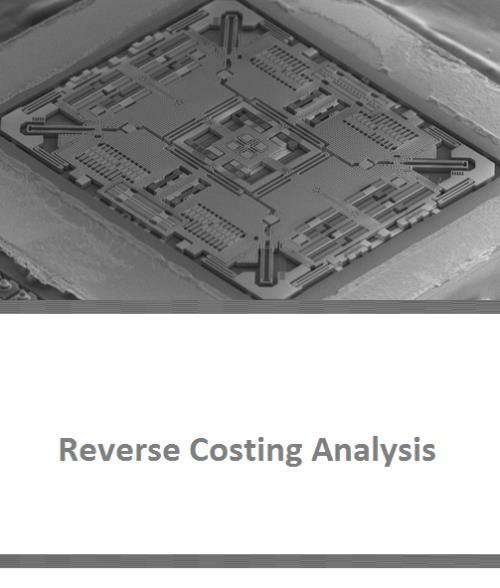 ST L3G3250A 3-axis MEMS Gyroscope Reverse Costing Analysis - Product Image