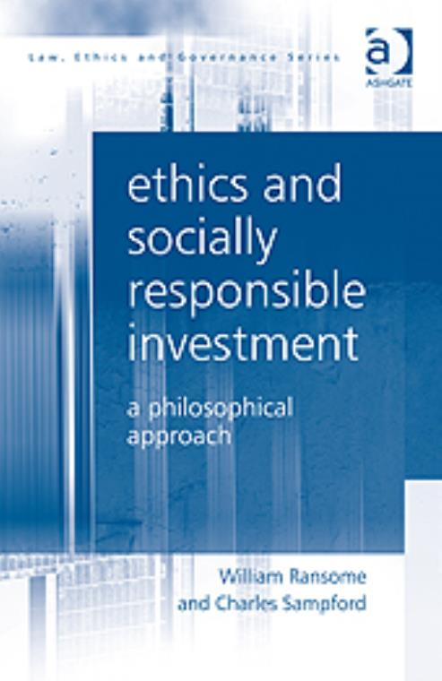 Ethics and Socially Responsible Investment: A Philosophical Approach - Product Image