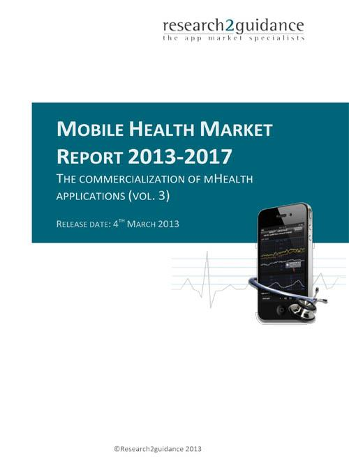 Mobile Health App Market Report 2013-2017: The Commercialization of mHealth Apps - Product Image
