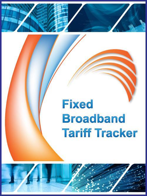 Fixed Broadband Tariff Tracker (ADSL, VDSL, SDSL, FTTH) - Product Image