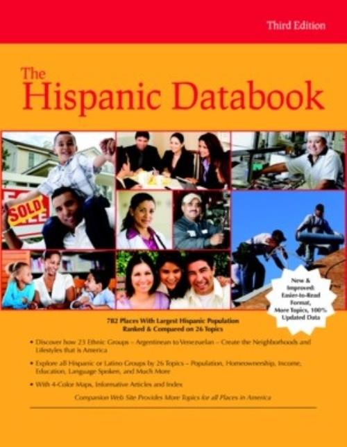 The Hispanic Databook, Third Edition - Product Image