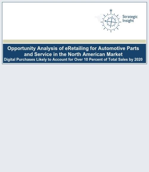 Opportunity Analysis of eRetailing for Automotive Parts and Service in the North American Market - Product Image