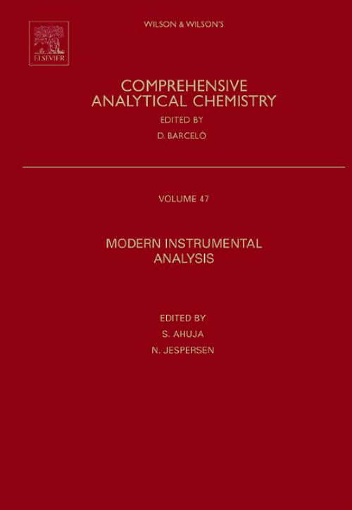 Modern Instrumental Analysis, Vol 47. Comprehensive Analytical Chemistry - Product Image