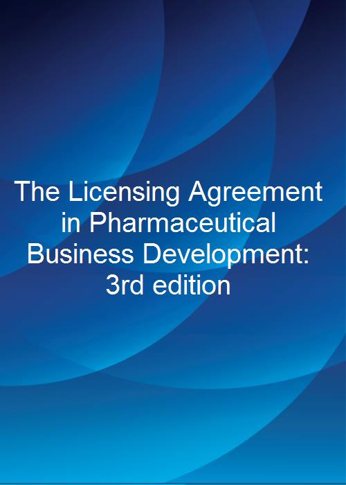The licensing agreement in pharmaceutical business development 3rd the licensing agreement in pharmaceutical business development 3rd edition product image platinumwayz