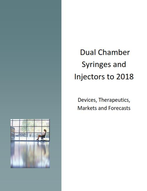 Dual Chamber Syringes & Injectors. Devices, Therapeutics, Markets and Forecasts - Product Image