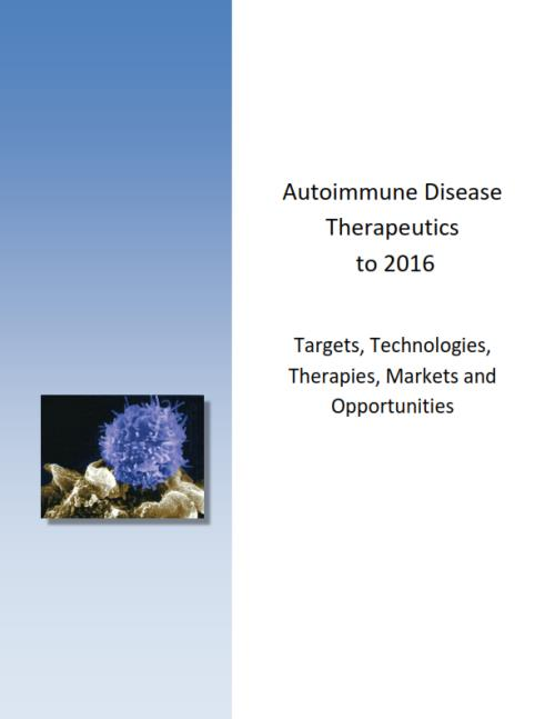Autoimmune Disease Therapeutics to 2016. Targets, Technologies, Therapies, Markets and Opportunities - Product Image