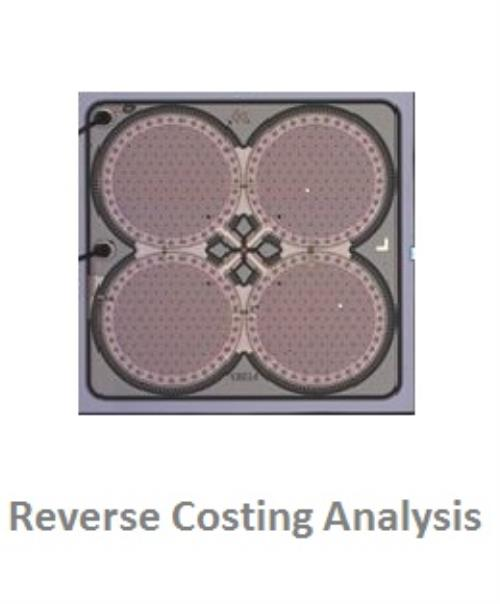 iPhone 5 MEMS Microphones Knowles - Reverse Costing Analysis - Product Image