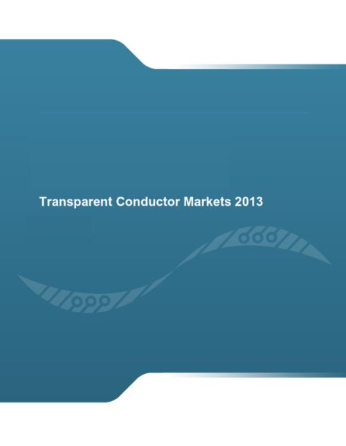 Transparent Conductor Markets 2013 - Product Image