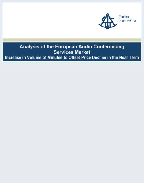 Analysis of the European Audio Conferencing Services Market - Product Image