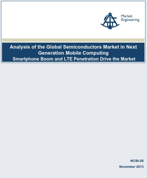 Analysis of the Global Semiconductors Market in Next Generation Mobile Computing - Product Image