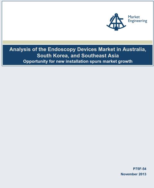 Analysis of the Endoscopy Devices Market in Australia, South Korea, and Southeast Asia - Product Image