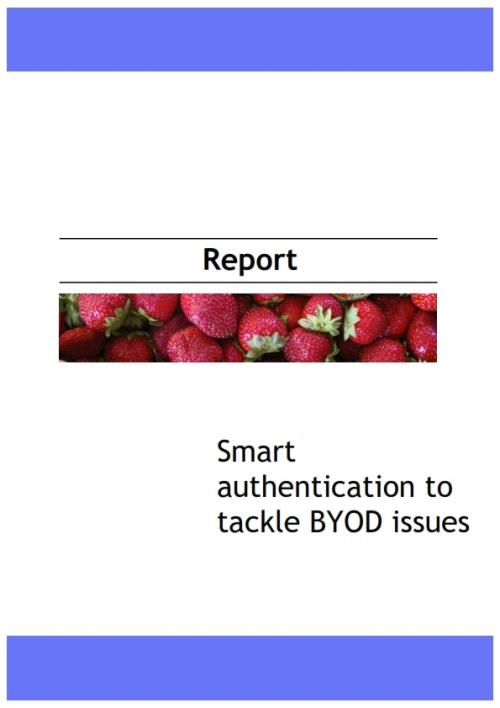 Smart Authentication to Tackle BYOD Issues - Product Image