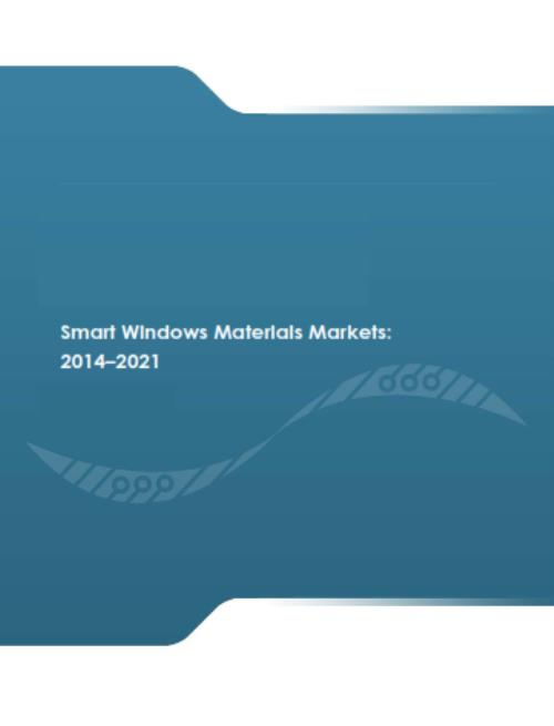 Smart Windows Materials Markets: 2014-2021 - Product Image