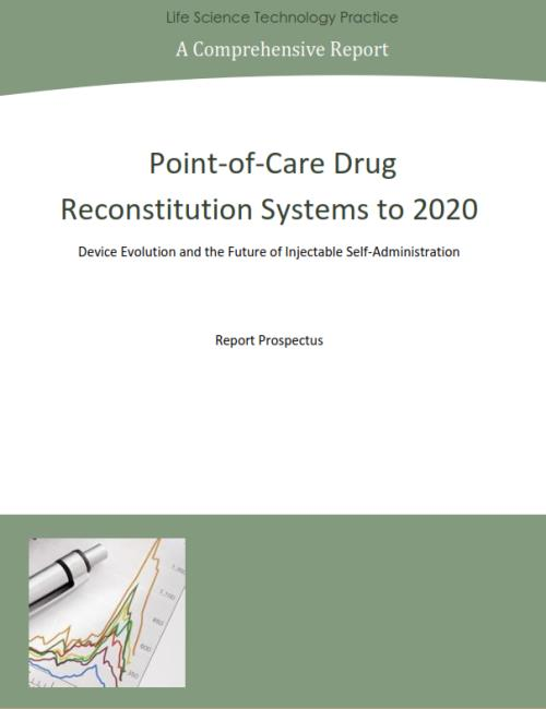 Point-of-Care Drug Reconstitution Systems to 2020 - Product Image