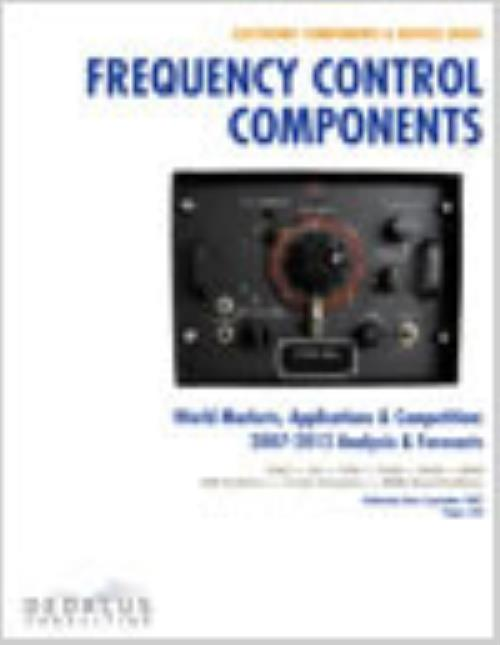 Frequency Control Components - Global Markets, Applications & Competitors: 2013-2018 - Product Image
