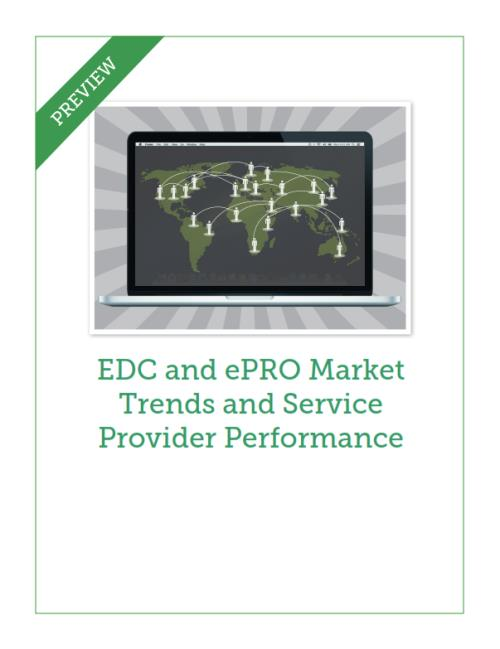 EDC and ePRO Market Trends and Service Provider Performance - Product Image