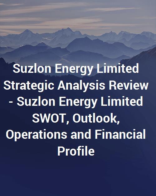 financial analysis on suzlon energy
