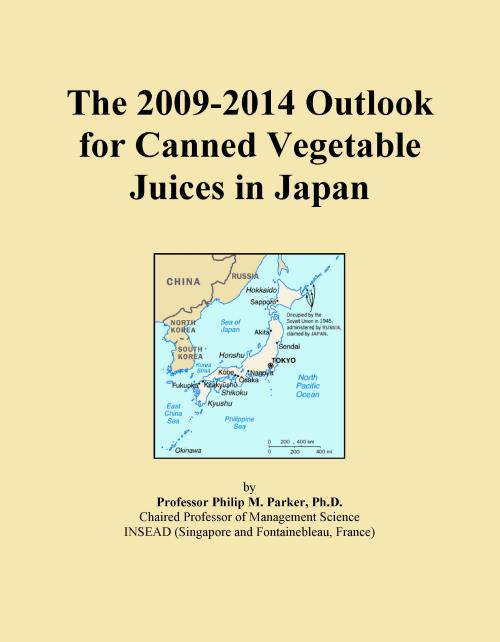 The 2009-2014 Outlook for Canned Vegetable Juices in Japan - Product Image