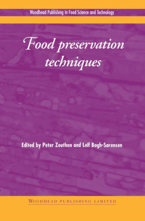 Food Preservation Techniques. Woodhead Publishing Series in Food Science, Technology and Nutrition - Product Image