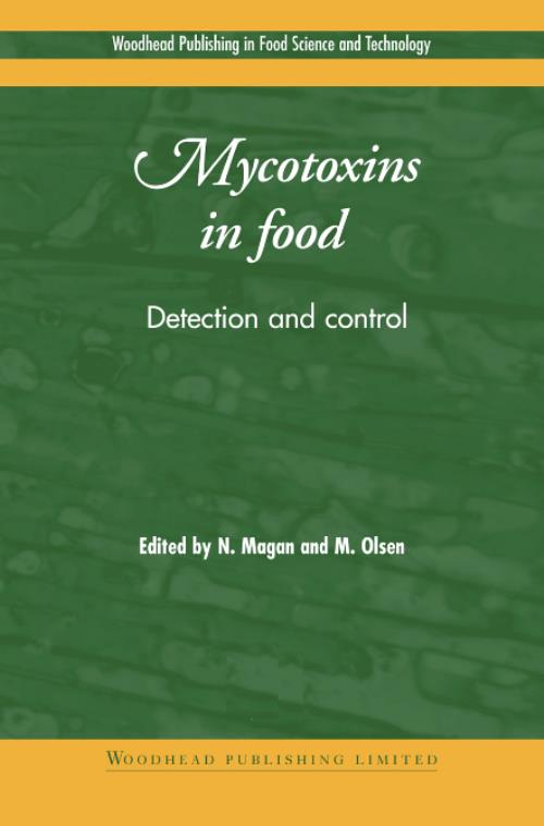 Mycotoxins in Food. Woodhead Publishing Series in Food Science, Technology and Nutrition - Product Image