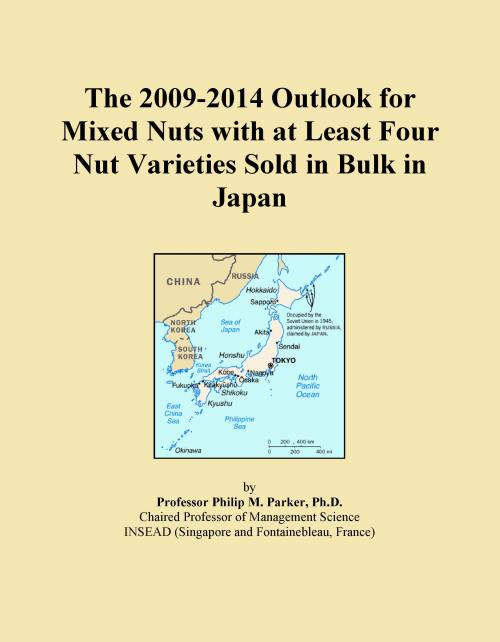 The 2009-2014 Outlook for Mixed Nuts with at Least Four Nut Varieties Sold in Bulk in Japan - Product Image
