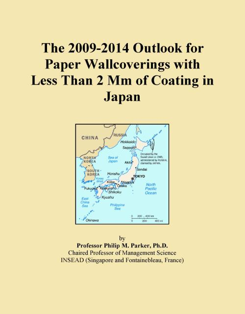 The 2009-2014 Outlook for Paper Wallcoverings with Less Than 2 Mm of Coating in Japan - Product Image