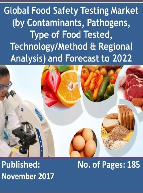 global food safety testing market outlook The report covers detailed competitive outlook including the market share and 9 food safety testing market, by food 113 global food safety.