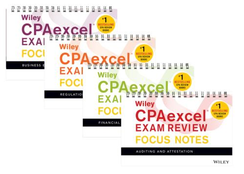 Wiley CPAexcel Exam Review April 2017 Study Guide Business Environment and Concepts