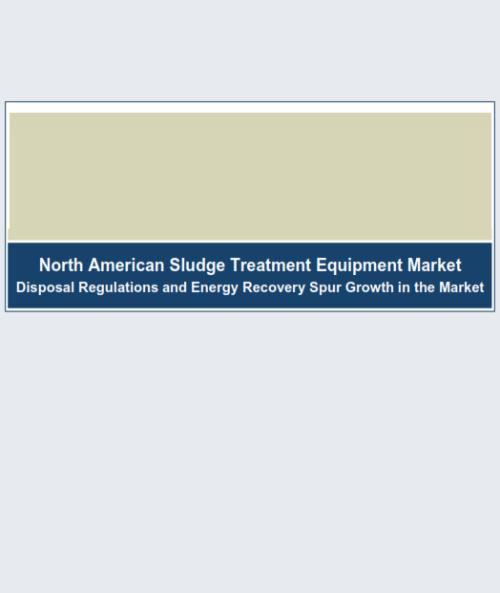 North American Sludge Treatment Equipment Market 2014 - Product Image